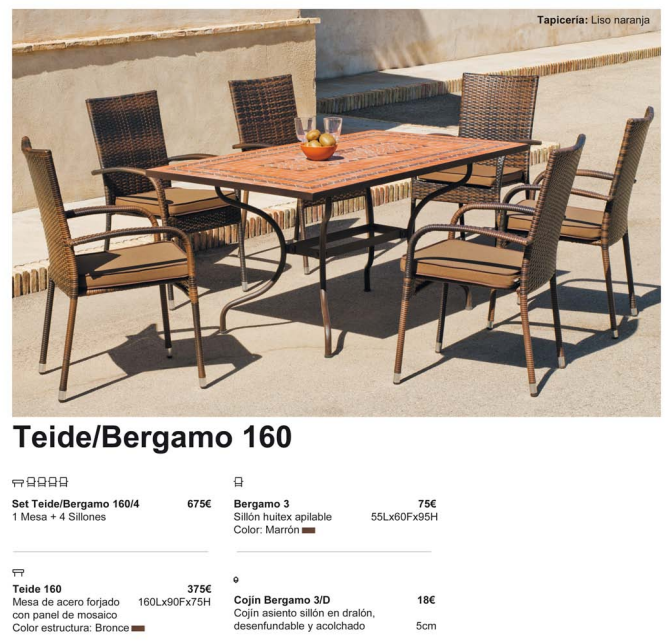 TEIDE-BERGAMO 160