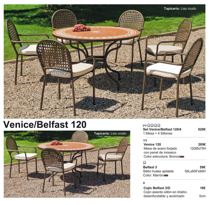 VENICE-BELFAST 120